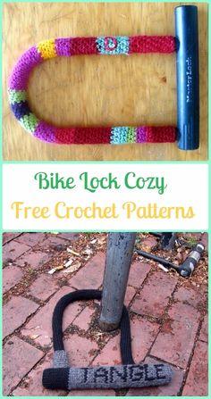 Crochet Bike Lock Cozy Free Patterns - Crochet Bicycle Fashion Patterns