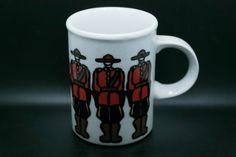 Marc Tetro Danesco Royal Canadian Mounted Police Coffee Mug