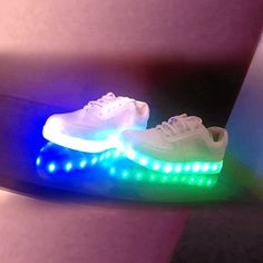 "Couples colorful fluorescent usb charging led luminous shoes kawaii clothing online store. sponsorship review and affiliate program opened here! - use this coupon code to get 10% off ""discountkawaii"""