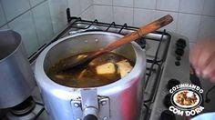 Caldo de Mocotó e Mocotó em Pedaços - Cozinhando com Dora
