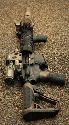 Build Your Sick Cool Custom Assault Rifle Firearm With This Web Interactive Firearm Builder with ALL the Industry Parts - See it yourself before you buy any parts Airsoft Guns, Weapons Guns, Guns And Ammo, Custom Ar15, Custom Guns, Tactical Rifles, Firearms, Shotguns, Armas Airsoft