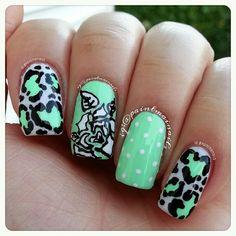 Instagram photo by paintmainails  #nail #nails #nailart