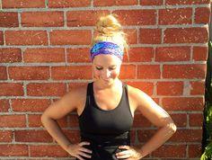 Workout headband - fitness headband - exercise headband - yoga headband - HIIT headband - boho headband •• Purple Haze ••