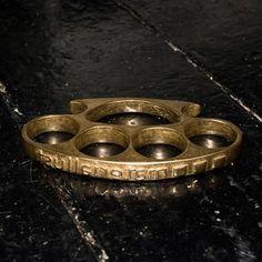 Material Lust Shop - Brass Knuckles