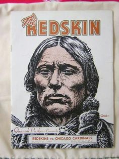 1959 vintage Redskins poster - Tell me this isn't displaying pride!