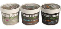 Frozen Forest Dog Ice Cream