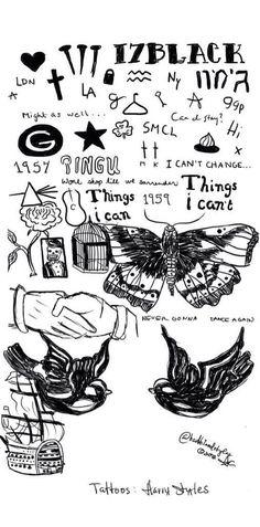 Harry Styles tattoo