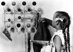 Eames coat rack for kids...