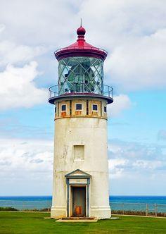 Kilauea Point Lighthouse by philhaber, via Flickr ~ Kauai, Hawaii