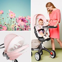 It's all about Sun Faded Pastels this Summer! Introducing three NEW Stokke Stroller Summer Kit Colors