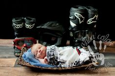 Motor cross baby boy! Like father like son!   Newborn photography  By Abba Color Photography www.facebook.com/abbacolor www.abbacolor.blogspot.com