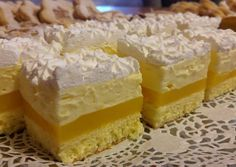 Cake Bars, Miniature Food, Winter Food, Cake Cookies, Vanilla Cake, Cake Decorating, Cheesecake, Food And Drink, Dessert Recipes