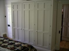 hand made wardrobes have fully framed panel doors