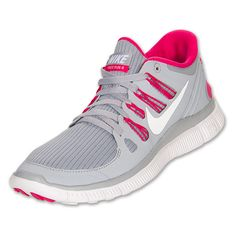 Nike Women\u0026#39;s Free 5.0+ Running Shoes [580591 061] - $89.99 : Wolf Grey