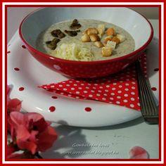 ÍZVARÁZS-LAT: Gombakrém leves Oatmeal, Breakfast, Food, The Oatmeal, Morning Coffee, Rolled Oats, Essen, Meals, Yemek