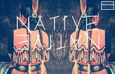Native Free Typeface by Lori Novak, via Behance