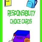 Responsibility is an important skill that all students need to learn to be successful at home, school, and in the community.  Included are 30 respo...