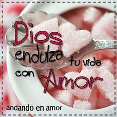 """El enojo amarga tu vida, pero el #AmordeDios la #endulza. """"El Amor de Dios ha…"""