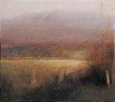 Michael Workman - Spring Landscape with Snow Flurries #2