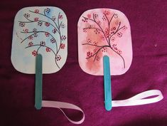 INFANTIL de GRACIA: FABRICAMOS ABANICOS CHINOS EL CEREZO EN FLOR Y LA ... New Year's Crafts, Paper Crafts, Diy For Kids, Crafts For Kids, Princess Crafts, New Year Art, Cultural Crafts, Chinese New Year Crafts, Kids Art Class