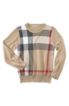 Burberry sweater :)