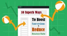 Boost Conversions and Reduce Bounce Rate #SEO