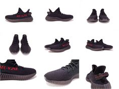 May 2017 Cheap High Quality Adidas Yeezy Boost 350 Black Red Sample 2016 2017 chaussures de course Running Shoes Adidas Running Shoes, Adidas Shoes, Adidas Superstar Outfit, Mode Adidas, Kobe Shoes, Adidas Yeezy 350 V2, Fashion Shoes, Teen Fashion, Runway Fashion