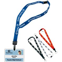 "3/4-Inch Breakaway Lanyard with Key Ring 65153 - 3/4"" breakaway lanyard with key ring. Easily seen breakaway lanyard holder helps you keep track of those necessary items. #propelpromo"