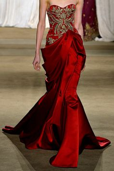 Gown for Cersei Lannister, Marchesa