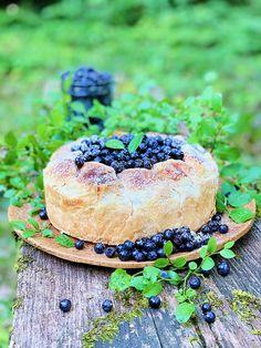 Enostavna sirova tortica (»cheesecake«) z borovnicami - Yaska