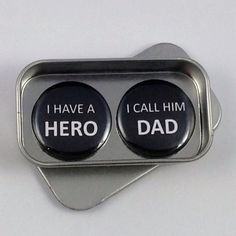 Dad Fathers Day Hero Magnet Gift Set with Gift Tin Fathers Day Gift, Birthday Gift Handmade Keepsake Greeting Card Alternative Trending Christmas Gifts, Christmas Gift For Dad, Unique Christmas Gifts, Unique Gifts For Dad, Tin Gifts, Thoughtful Gifts, Fathers Day Gifts, Magnets, Birthday Gifts
