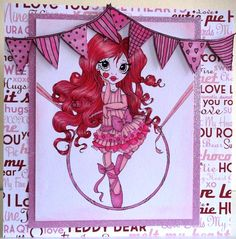 Hand Made Cards - Karoove 069