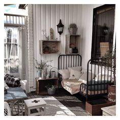 bedroom. vintage. nordic