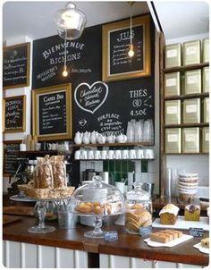 La bossue : chouette salon de thé à Paris 18 #brunch #pâtisserie #paris…pour la maison prévoir un tableau en 80X 140cm