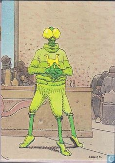 Trading cards - Moebius (collector cards) - Mikey