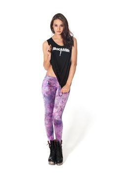 Fairy Paint Lavender Leggings
