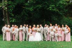 A Lovely Spring Wedding With Large Party At Darasgardens Flowers By