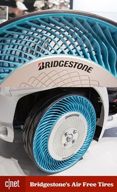 Like you, Bridgestone wants to say goodbye to flat tires. Made with recyclable components, could this be the next big thing in tire design?