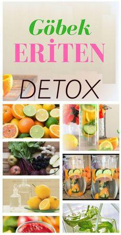 Ev ortamında hazırlayabileceğiniz toksinlerden arındıran göbek eriten detox tarifleri.