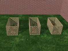 How To Build A Cedar Lattice Compost Bin
