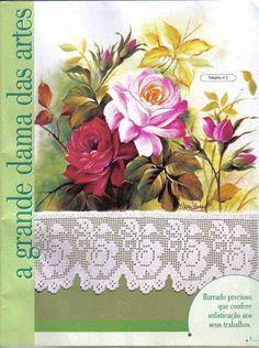 Pintura e crochê-Ed.Central 17 - Lidia Arte - Álbuns da web do Picasa