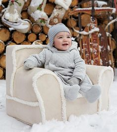 Babys First Christmas Gift Idea: Anywhere Chair!