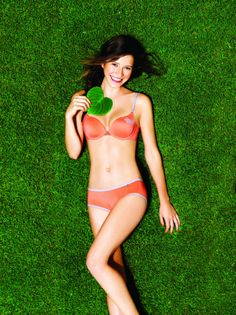 A bevvy of models will show off eco-friendly Sloggi lingerie made of recycled coffee ground fabric at Ngee Ann City Civic Plaza this Saturday March 29, 2014