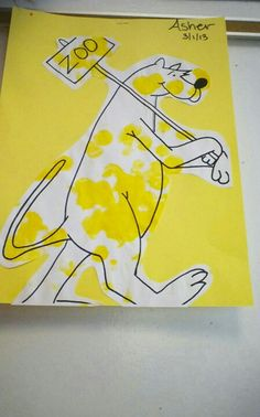 Put Me In The Zoo:  Dr. Seuss craft