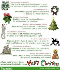 pagan yule trees   The pagan roots of Christmas   Religion Poisons