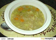 jitrnicová polévka