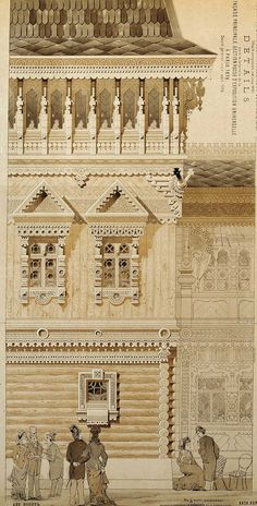 MOTIFS DE L'ARCHITECTURE RUSSE. МОТИВЫ РУССКОЙ АРХИТЕКТУРЫ.