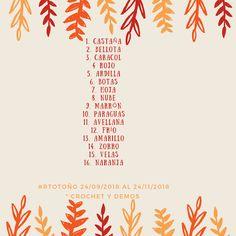 Crochet y demos: Reto otoño #RTotoño Movie Posters, Squirrels, Film Poster, Billboard, Film Posters