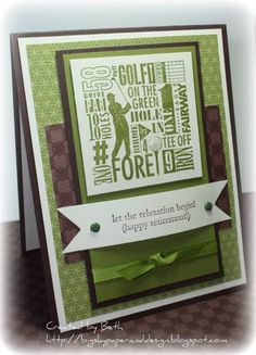 SC317, Happy Golfing... by bigsky - Cards and Paper Crafts at Splitcoaststampers