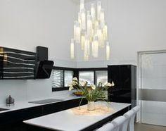 Tanzania Chandelier - contemporary - kitchen - new york - Shakúff Rattan Pendant Light, Led Pendant Lights, Modern Pendant Light, Pendant Lighting, Vintage Crystal Chandelier, Candle Chandelier, Rattan Lamp, Kitchen New York, Elegant Chandeliers